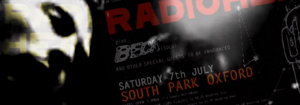 Radiohead @ South Park, Oxford July 2001